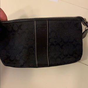 Small Coach make up bag